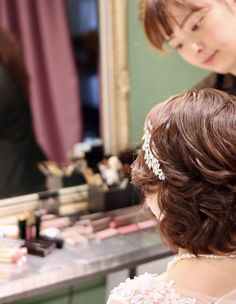 出張ブライダルヘアメイク,結婚式,持ち込みヘアメイク,kasanebridalsalon